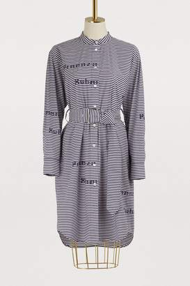 Proenza Schouler Striped shirt dress