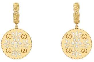 Gucci Icon earrings in yellow gold
