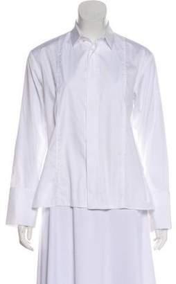 Barbara Bui Long Sleeve Button-Up Top