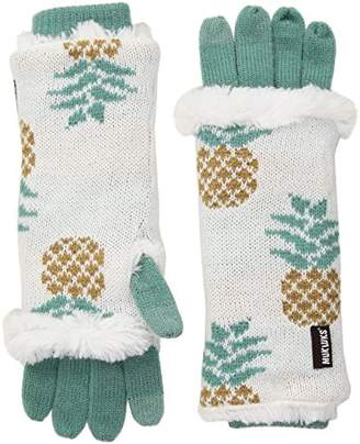 Muk Luks Women's 3-in-1 Gloves