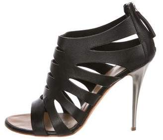 Giuseppe Zanotti Leather Cut Out Sandals