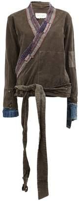 Greg Lauren wrap jacket