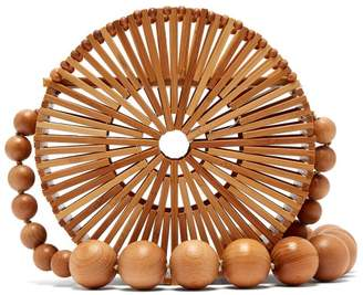 Cult Gaia - Luna Bamboo Basket Bag - Womens - Tan