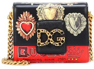 Dolce & Gabbana Millennials leather shoulder bag