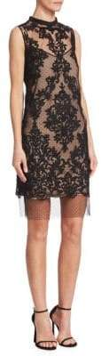 No.21 No. 21 No. 21 Women's Lace Sleeveless Shift Dress - Black - Size 38 (2)