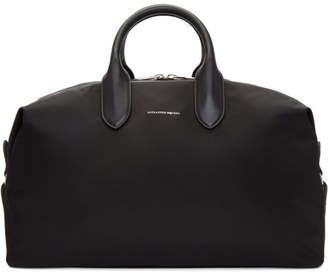 Alexander McQueen Black Medium Holdall Duffle Bag
