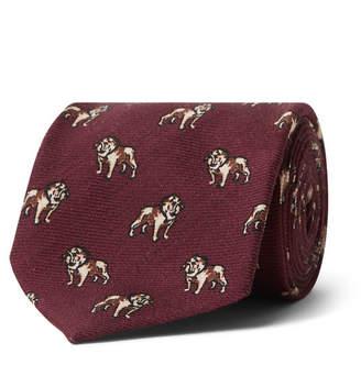 Polo Ralph Lauren 7.5cm Madison Printed Wool-Twill Tie