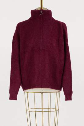 Etoile Isabel Marant Cyclan mohair and wool sweater