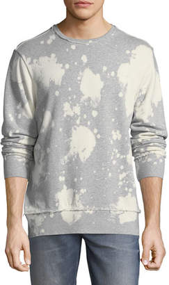 PRPS Bleached Distressed-Edge Sweatshirt