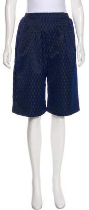 Jonathan Simkhai Patterned Knee-Length Shorts