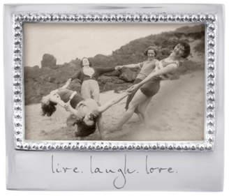 Mariposa Live Laugh Love Frame