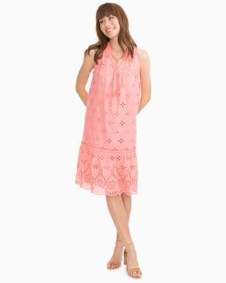 Southern Tide Rowena Scalloped Eyelet Dress