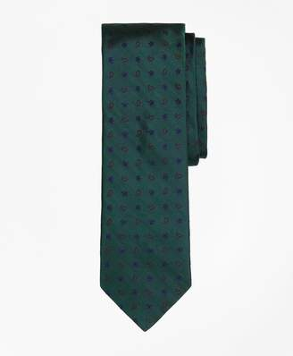Brooks Brothers Paisley & Floral Silk Jacquard Slim Tie