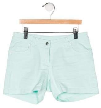 Christian Dior Girls' Five Pockets Denim Shorts
