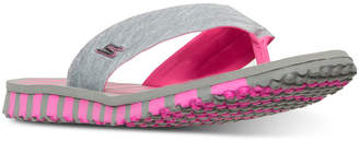 Skechers Women's Go Flex - Vitality Flip Flop Sandals from Finish Line $29.99 thestylecure.com