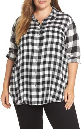 Lucky Brand Mixed Check Shirt