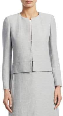 Akris Occident Textured Jacket