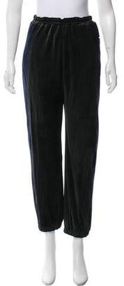 Hache Velour High-Rise Pants w/ Tags