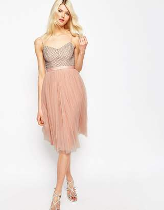 Needle & Thread Coppelia Embellished Ballet Tulle Dress $137 thestylecure.com