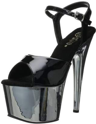 Pleaser USA Women's Adore-709 Ankle-Strap Sandal