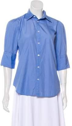 Ralph Lauren Collared Button-Up Top