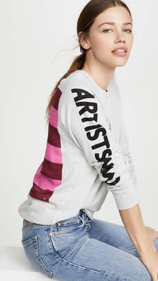 Freecity Hockney Strikes Raglan Sweatshirt