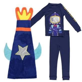 Freestyle Revolution Long Sleeve Pajamas & Sleeping Bag, 3-piece Sleepover Gift Set (Toddler Boys)