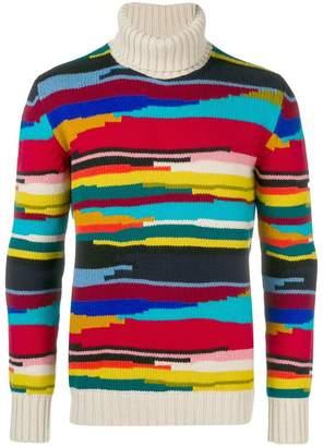 Missoni intarsia stripe sweater