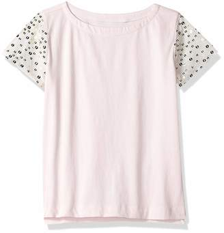 Look By Crewcuts LOOK by crewcuts Girls' Sequin Sleeve T-Shirt