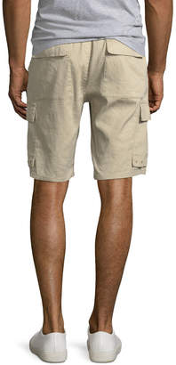 Vince Men's Drawstring Linen-Blend Cargo Shorts