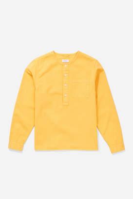Saturdays NYC Pontus Solid Long Sleeve Shirt