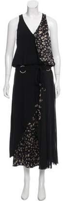 Cinq à Sept Sleeveless Floral Maxi Dress