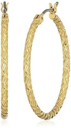 Nine West Tone Hoop Earrings