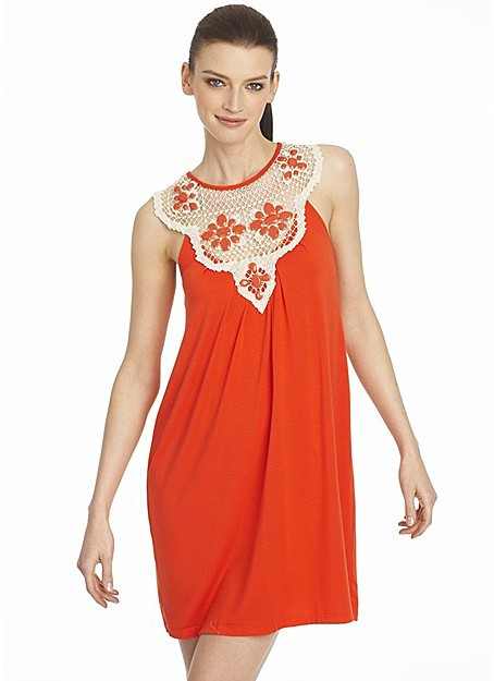 Aqua Women's Sleeveless Jewel Detail Dress: Exclusively at Bloomingdale's