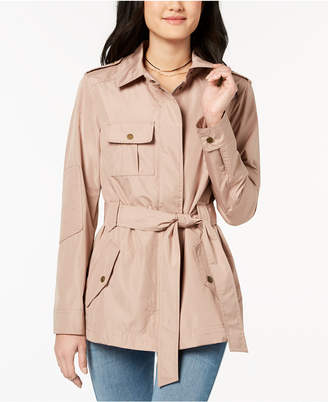 Celebrity Pink Juniors' Belted Anorak