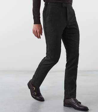 Reiss Our last order date for Christmas has now passed SUTTON SLIM FIT TROUSERS Charcoal
