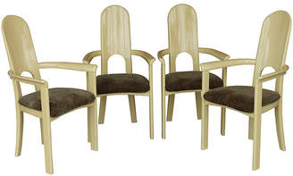One Kings Lane Vintage Italian Lacquered Wood Armchairs
