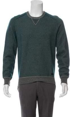 Burberry Wool Long Sleeve Crew Neck Sweater
