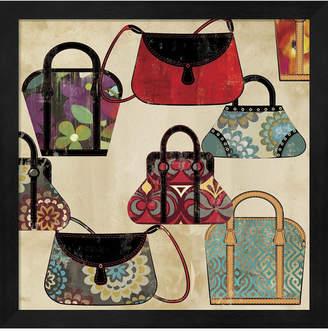 Metaverse Bag Pattern By Posters International Studio Framed Art