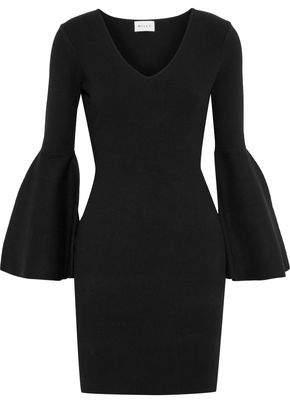 Milly Stretch-Knit Mini Dress