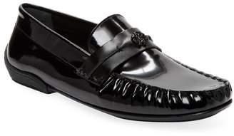 Roberto Cavalli Men's Patent Leather Loafer