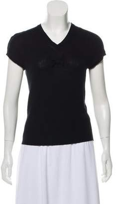 Marc Jacobs Short Sleeve Wool Sweater