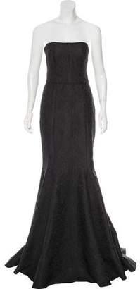 Dolce & Gabbana Strapless Brocade Gown