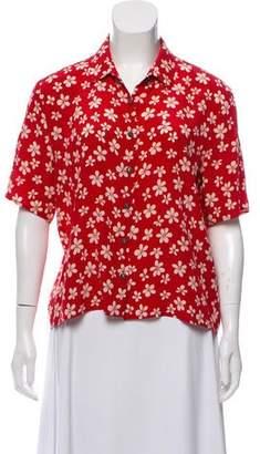 The Kooples Silk Short Sleeve Top w/ Tags