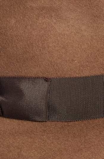 Eric Javits Women's 'Kim' Wool Fedora - Brown