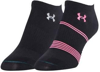 Under Armour Women's 2-pk. Grippy III No-Show Socks