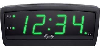 Equity by La Crosse 30229 Green LED 0.9 Inch Digital Alarm Clock