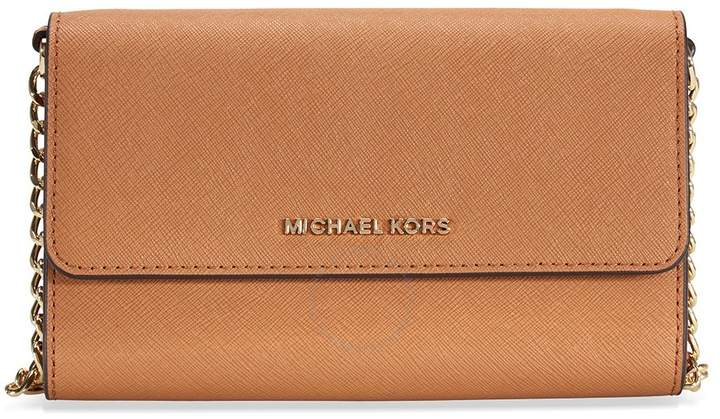 Michael Kors Jet Set Large Phone Crossbody - Acorn - ONE COLOR - STYLE