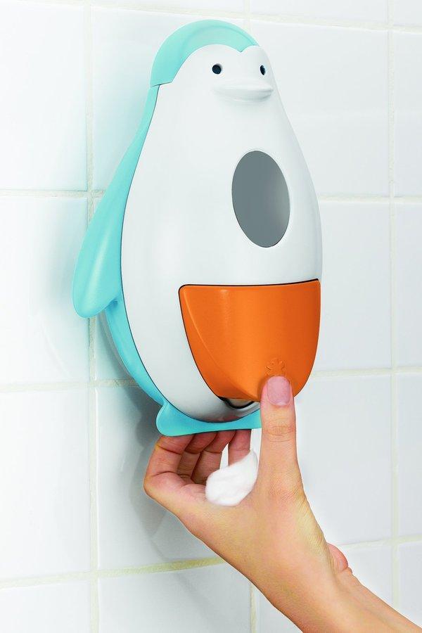 Skip Hop Penguin Soapster Foaming Soap Dispenser