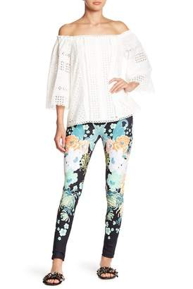 Hale Bob Patterned Athletic Leggings
